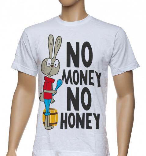 "Футболка ""No money, no honey"""