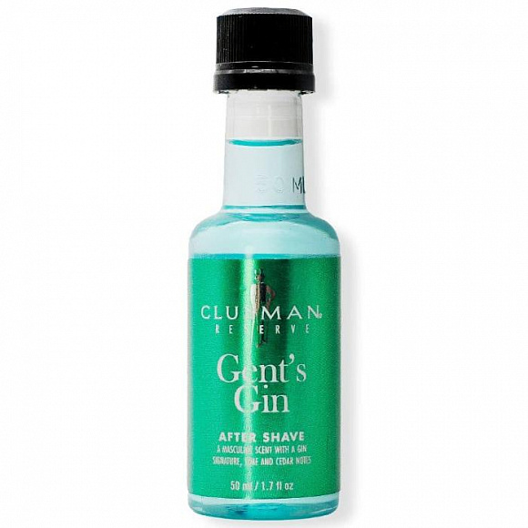 Лосьон после бритья Clubman After Shave Gent Gin Lotion 50 мл.