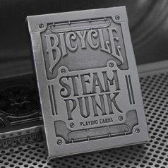 Карты Bicycle Premium Steampunks Silver